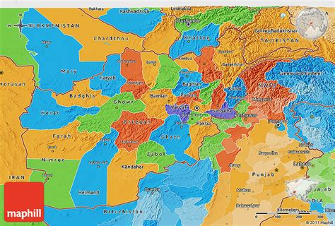 political map of afghanistan political 3d map of afghanistan