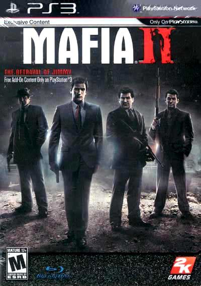 Mafia Ii Ps3 Cd image gallery mafia 2 ps3