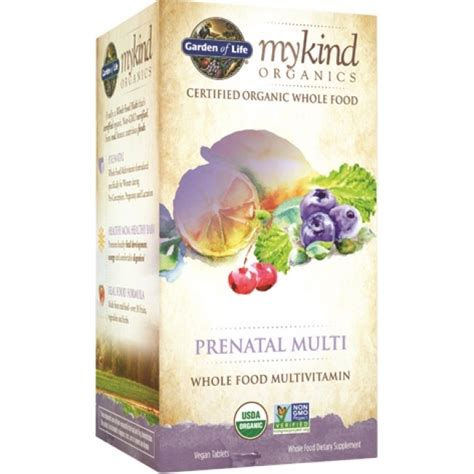 Garden Of Organic Prenatal Garden Of Mykind Organics Prenatal Multi 180 Vegan