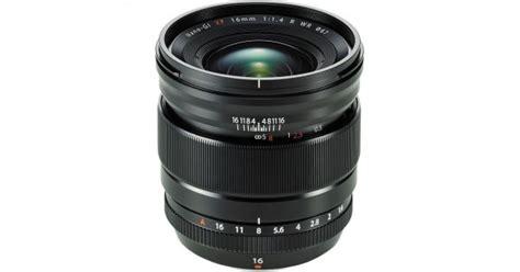 Lensa Fujifilm X Series fujifilm xf 16mm f 1 4 r wr lens
