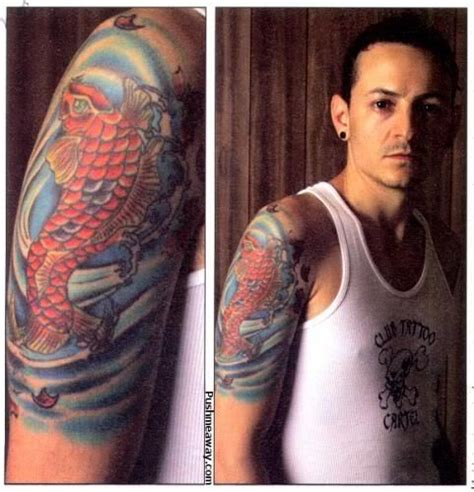 chester bennington tattoos