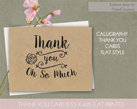 Creative Business Thank You Cards kraft paper thank you cards card templates on creative