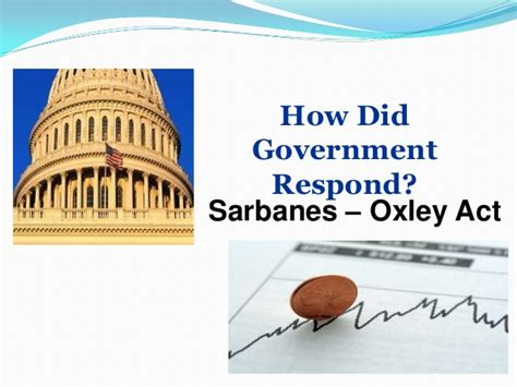 sarbanes oxley act section 201 worldcom and enron