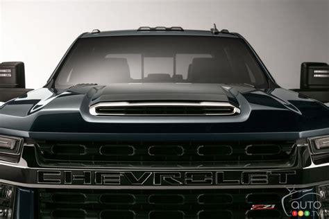2020 chevrolet suburban detroit auto show 1st image released of 2020 chevrolet silverado hd car