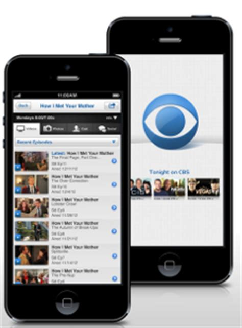 cbs app for android how to free tv on your android iphone