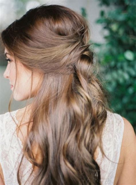Wedding Hairstyles Hair Half Up by 34 Fall Wedding Hair Ideas That Inspire Weddingomania