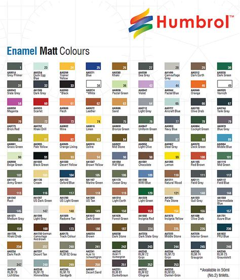 humbrol 12 x enamel model paint 14ml choose your colours model paints tamiya ebay