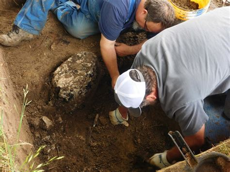 Find In Arkansas Arkansas Archaeologists Find The Remains Of De Soto S Cross Archaeological
