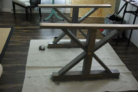 diy wood dining table legs diy a farmhouse table modernizing the traditional