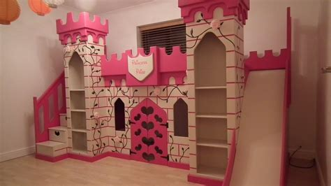Princess Bed With Slide by Wonderful Castle Bed With Slide For Bedroom