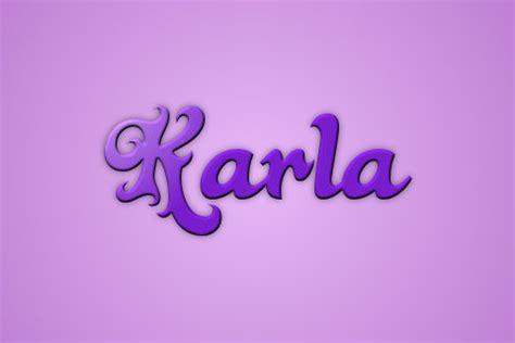 imagenes que digan karina significado de karla lo nunca contado