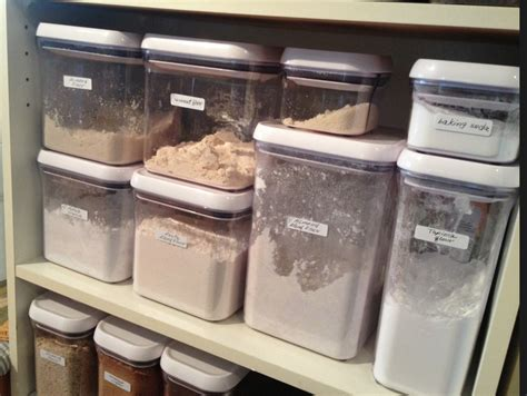 baking container storage eat live grow paleo how to set up a baking center