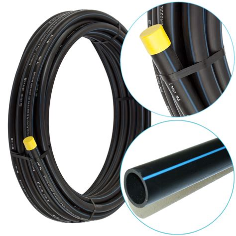 wasserleitung aus kunststoff 2 00 1m 5m pe hd rohr 20mm 1 2 quot zoll hdpe pe rohre