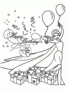 happy birthday anna coloring pages happy birth day coloring pages are popular among kids from