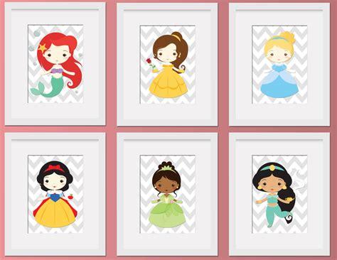 free printable princess wall art little disney princess wall art digital by thepurplemonkeyshop