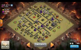 Town hall 9 war base anti 3 star otc 06 2016 bases amp strategies i