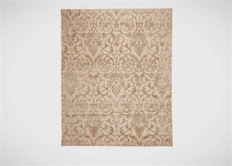 jacquard damask rug buff damask floral rugs