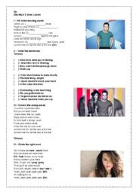demi lovato and olly murs up mp3 download english worksheets olly murs ft demi lovato up