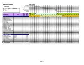 manpower planning template