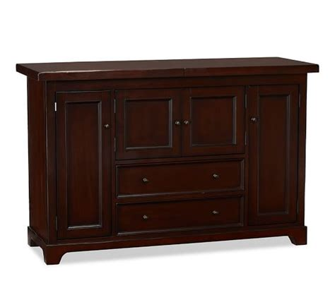 Pottery Barn Cabinet Torrens Bar Cabinet Pottery Barn