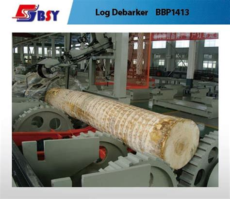 debarking a china log debarker debarking plywood machine bbp1413 1408 china log debarker