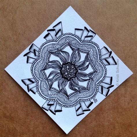 zentangle pattern enyshou 17 best images about enyshou on pinterest rick and