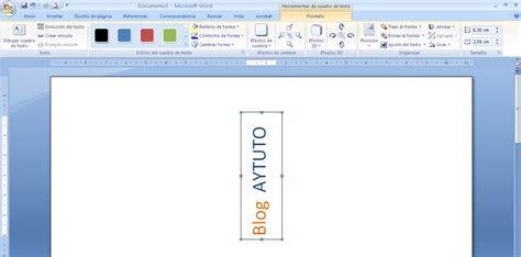 solamente una vez testo aytuto escribir textos en vertical en microsoft office word