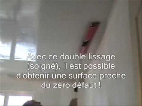 Lissage Plafond by Demo Technique Enduit Airless De Lissage Sur Plafond