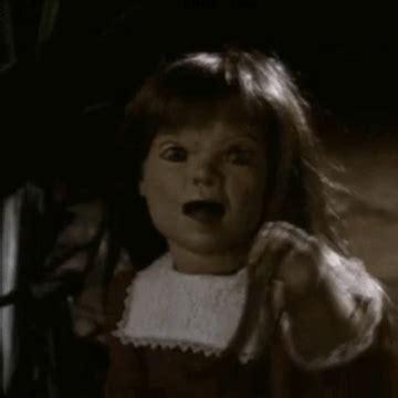 black dolly killer dolly dearest horror gif by absurdnoise find