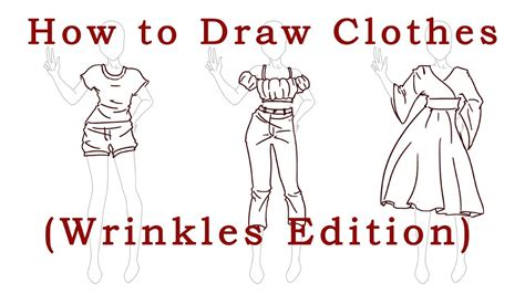 How To Draw Wrinkles In Clothes how to draw clothes wrinkles edition