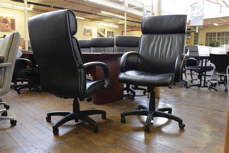 turnstone office furniture steelcase turnstone high back leather chairs used