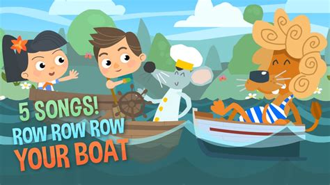 boat song for baby row row row your boat baby songs kids songs nursery