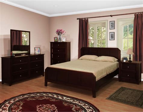 espresso bedroom sets palazzo footboard bedroom set espresso cherry or walnut