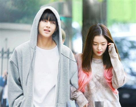 bts girlfriend bts v and irene as a couple k pop amino