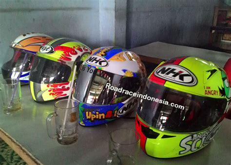 Helm Kyt Road Race Helm Lokal Meraja Helm Import Pulang Kung Road Race