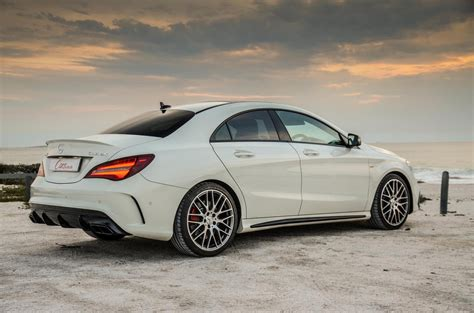 mercedes amg cla  matic  review carscoza