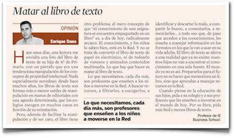 pdf libro de texto la sombra de los que fuimos para leer ahora matar al libro de texto mi columna en expansi 243 n 187 enrique dans