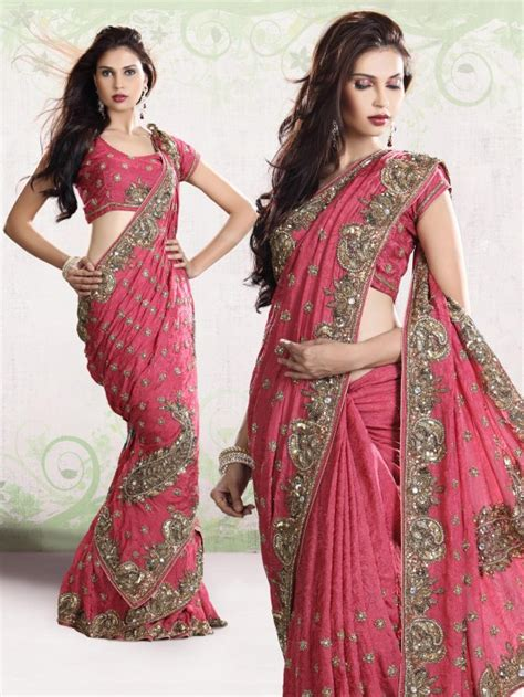 styles of draping saree in wedding bridal saree style saree draping style