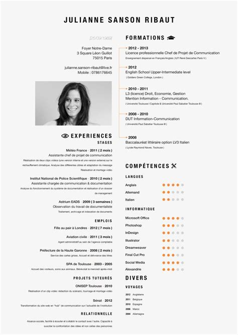 layout a cv 17 best images about resume design layouts on pinterest