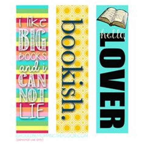 printable girly bookmarks 1000 ideas about printable bookmarks on pinterest free