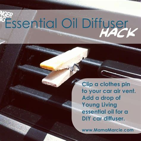 essential hack how to get diy diffuser for car hack cleaning organizing diy car
