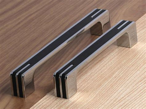 3 75 Quot 5 Quot 6 3 Quot Modern Silver Black Kitchen Cabinet Door Modern Kitchen Cabinet Hardware