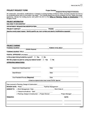 design request form pdf fillable online project request form planning design