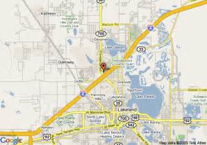 lakeland florida maps map of la quinta inn lakeland lakeland