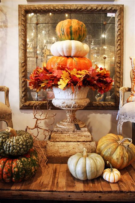 thanksgiving home decorations 30 beautiful thanksgiving pumpkin decorations for your