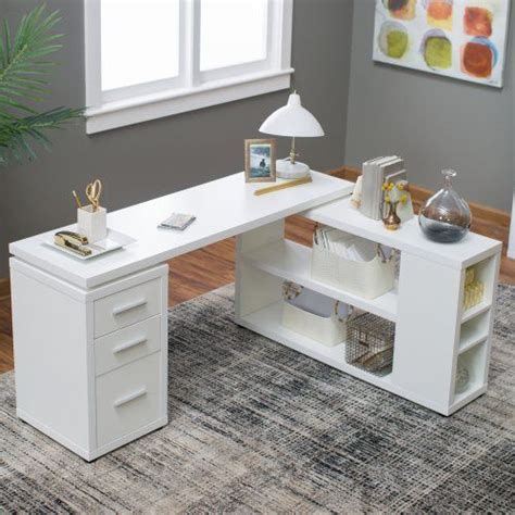 White Table L Best 25 L Shaped Office Desk Ideas On Office Room Ideas White T Shaped Desk And