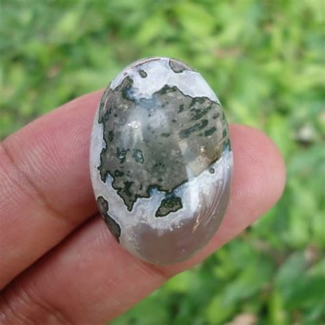 Batu Akik Damar Wulan 5164 mustika buto ijo bertuah pesugihan alami pusaka dunia