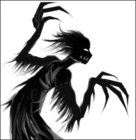 Shadow demon they're watching you.   Hunter: Inspiration Board   Pinterest