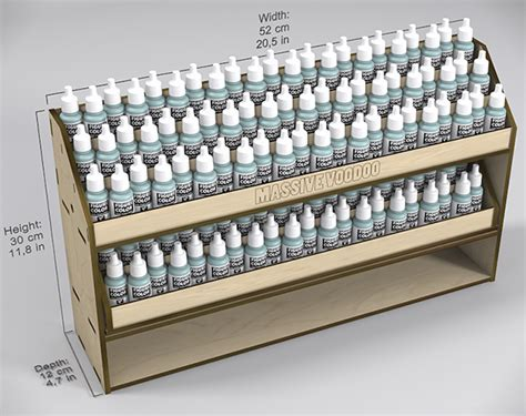 the ultimate paint rack by voodoo indiegogo