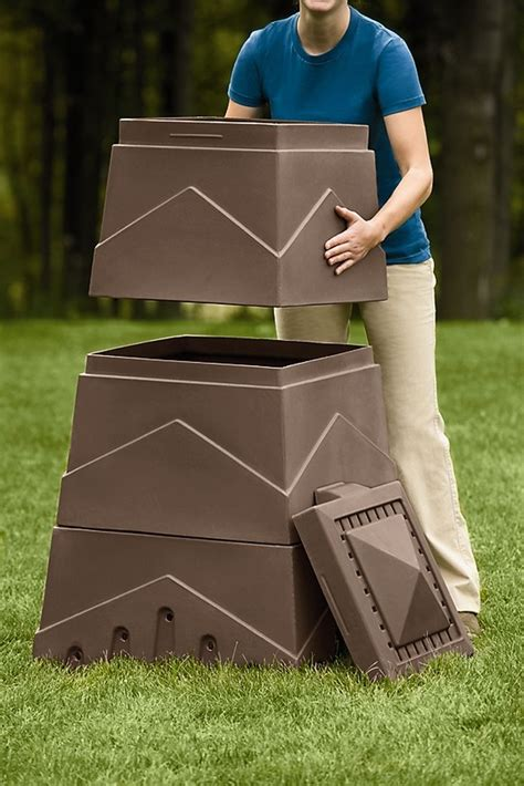 compost bin dw 174 s eco stack composter compost bin gardener s supply